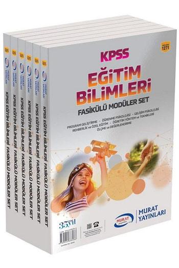 Murat Yayinlari 2018 KPSS Egitim Bilimleri Fasikülü Modüler Set