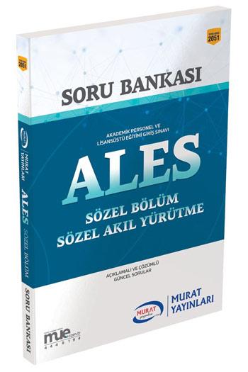 Murat Yayinlari ALES Sözel Bölüm Soru Bankasi