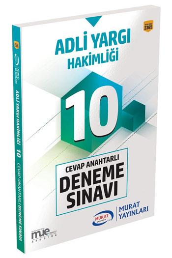Murat Yayinlari Adli Yargi Hakimligi Cevap Anahtarli 10 Deneme Sinavi