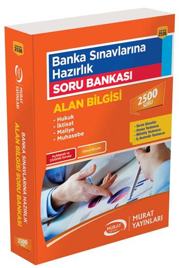 Murat Yayinlari Banka Sinavlarina Hazirlik Alan Bilgisi Soru Bankasi Kod 2536