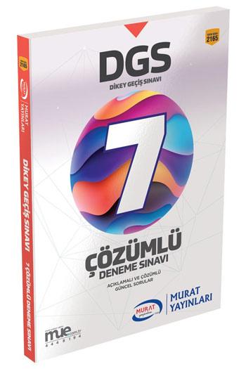 Murat Yayinlari DGS 7 Çözümlü Deneme Sinavi Kod 2165