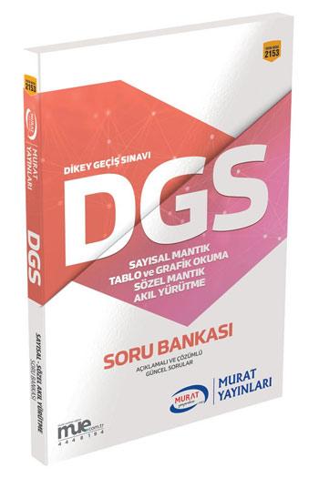Murat Yayinlari DGS Mantik ve Akil Yürütme Soru Bankasi
