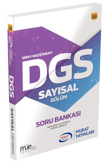 Murat Yayinlari DGS Sayisal Bölüm Soru Bankasi