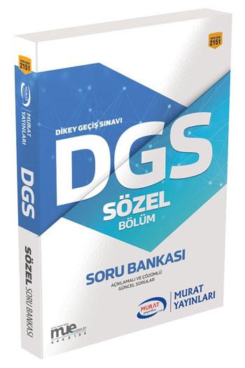 Murat Yayinlari DGS Sözel Bölüm Soru Bankasi