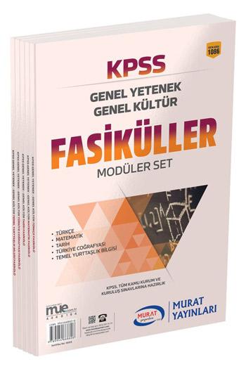 Murat Yayinlari KPSS Genel Yetenek Genel Kültür Fasiküller Modüler Set
