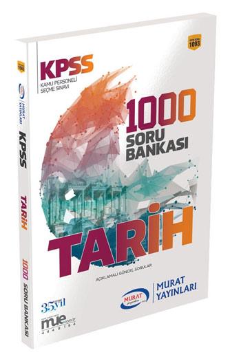 Murat Yayinlari KPSS Tarih 1000 Soru Bankasi Kod 1093