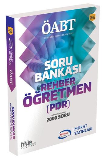 Murat Yayinlari ÖABT Rehber Ögretmen (PDR) Tamami Açiklamali Soru Bankasi
