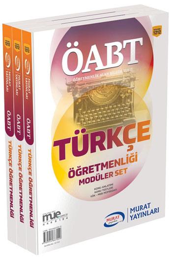 Murat Yayinlari ÖABT Türkçe Ögretmenligi Konu Anlatimli Modüler Set