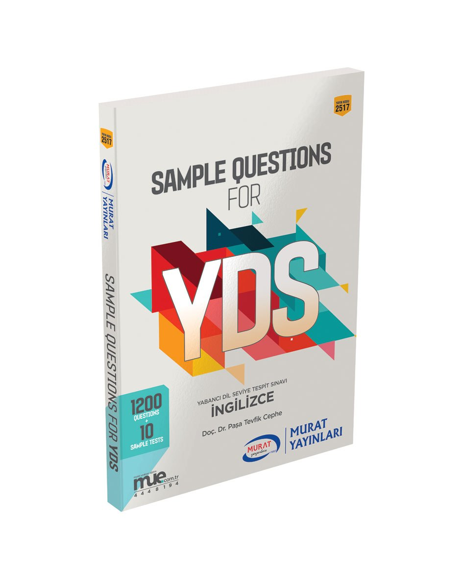 Murat Yayinlari Sample Questions for YDS