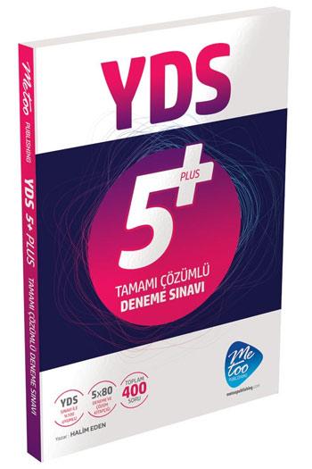 MeToo Publishing YDS Tamami Çözümlü 5 Plus Deneme Sinavi