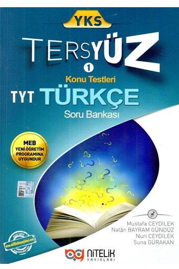 Nitelik Yayinlari YKS 1. Oturum TYT Tersyüz Türkçe Soru Bankasi