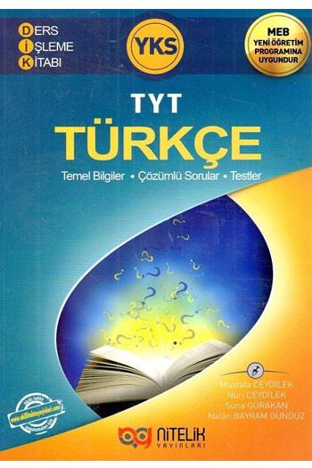 Nitelik Yayinlari YKS 1. Oturum TYT Türkçe Ders Isleme Kitabi