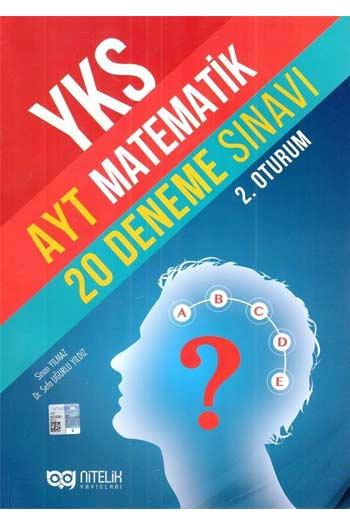 Nitelik Yayinlari YKS 2. Oturum AYT Matematik 20 Deneme Sinavi