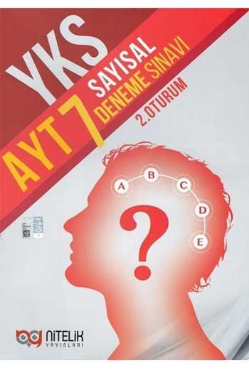 Nitelik Yayinlari YKS 2. Oturum AYT Sayisal 7 Deneme Sinavi