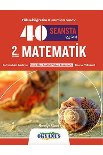 Okyanus Yayinlari YKS 2. Oturum 40 Seansta Kolay Matematik