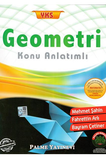 Palme Yayinlari YKS Geometri Konu Anlatimli