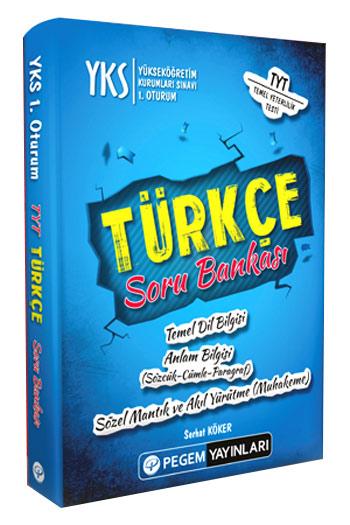 Pegem Yayinlari YKS 1. Oturum TYT Türkçe Soru Bankasi