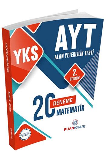 Puan Yayinlari YKS 2. Oturum AYT Matematik 20 Deneme