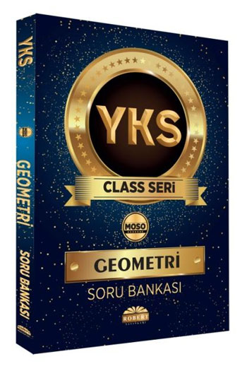 Robert Yayinlari YKS Class Serisi Geometri Soru Bankasi