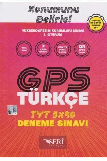 Seri Yayinlari YKS 1. Oturum TYT GPS Türkçe 5x40 Deneme Sinavi