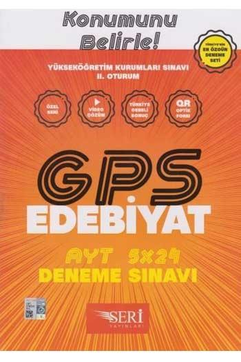 Seri Yayinlari YKS 2. Oturum AYT GPS Edebiyat 5x24 Deneme Sinavi