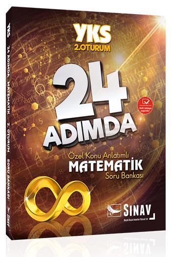 Sinav Yayinlari YKS 2. Oturum Matematik 24 Adimda Özel Konu Anlatimli Soru Bankasi