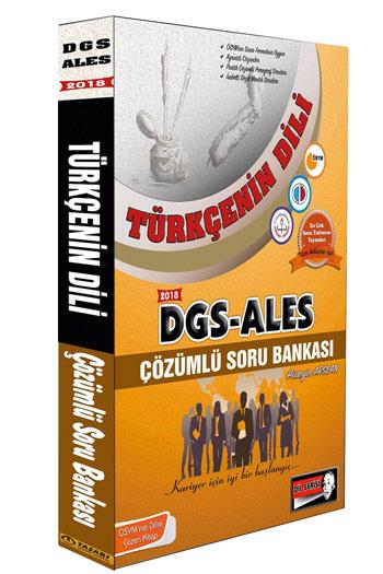Tasari Yayinlari 2018 DGS ALES Türkçenin Dili Çözümlü Soru Bankasi