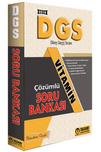 Tasari Yayinlari 2018 DGS Vitamin Çözümlü Soru Bankasi