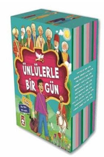 Timas Çocuk Yayinlari Ünlülerle Bir Gün Seti 10 Kitap