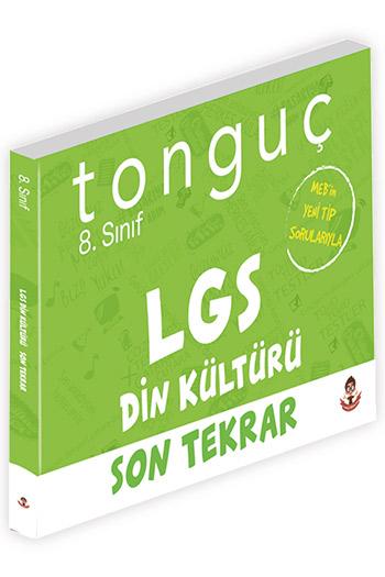 Tonguç Akademi 8. Sinif LGS Din Kültürü ve Ahlâk Bilgisi Son Tekrar