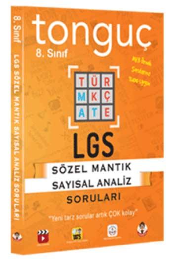 Tonguç Akademi 8. Sinif LGS Sözel-Sayisal Mantik Sorulari