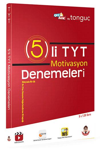 Tonguç Akademi YKS 1. Oturum TYT 5 li Motivasyon Denemeleri