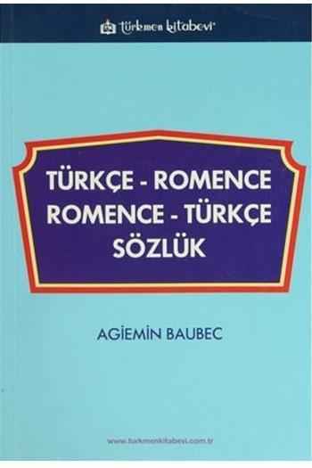 Türkmen Kitabevi Türkçe-Romence / Romence-Türkçe Sözlük
