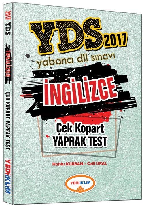 YDS Ingilizce Çek Kopart Yaprak Test Yediiklim Yayinlari