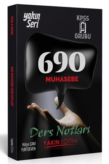 Yakin Egitim Yayinlari KPSS A Grubu 690 Muhasebe Ders Notlari