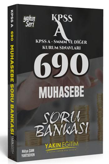 Yakin Egitim Yayinlari KPSS A Grubu 690 Muhasebe Soru Bankasi
