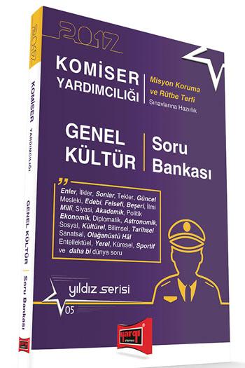 Yargi Yayinlari 2017 Komiser Yardimciligi Genel Kültür Soru Bankasi Yildiz Serisi 5