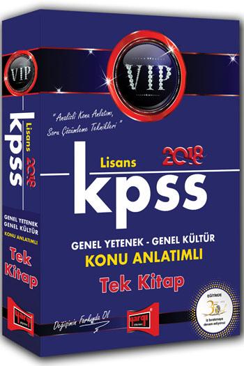 Yargi Yayinlari 2018 KPSS Genel Yetenek Genel Kültür VIP Lisans Konu Anlatimli Tek Kitap
