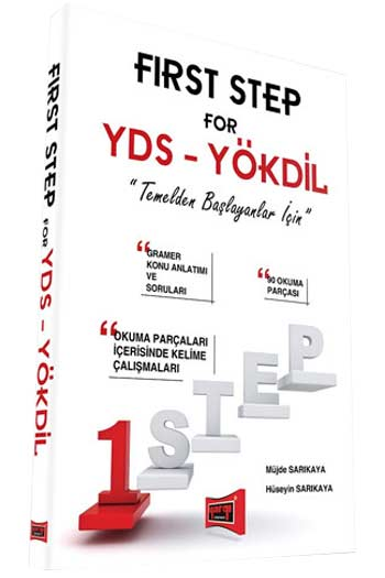 Yargi Yayinlari FIRST STEP for YDS - YÖKDIL