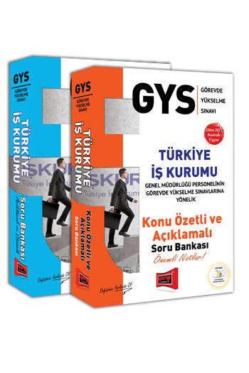 Yargi Yayinlari GYS Türkiye Is Kurumu Konu Anlatimli ve Soru Bankasi Tam Hazirlik Seti