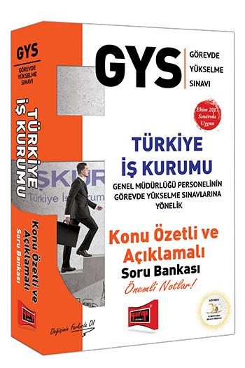 Yargi Yayinlari GYS Türkiye Is Kurumu Konu Özetli Açiklamali Soru Bankasi