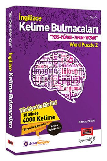 Yargi Yayinlari Ingilizce Kelime Bulmacalari YDS YÖKDIL TIPDIL YKSDIL Word Puzzle 2