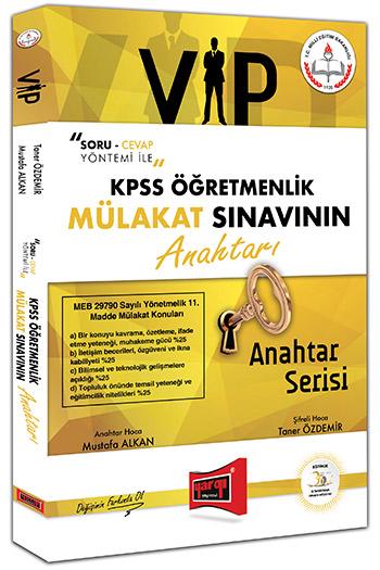 Yargi Yayinlari KPSS Ögretmenlik VIP Mülakat Sinavinin Anahtari