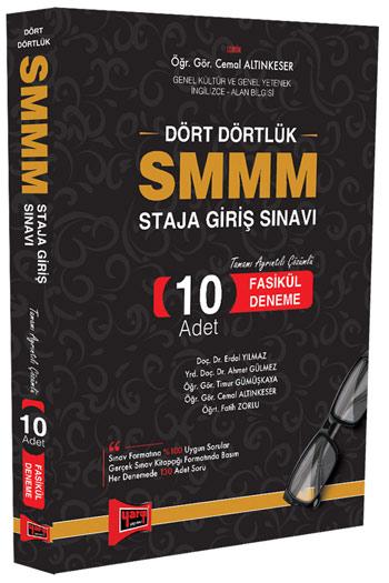 Yargi Yayinlari SMMM Staja Giris Sinavi Tamami Ayrintili Çözümlü 10 Fasikül Deneme
