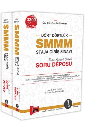 Yargi Yayinlari SMMM Staja Giris Sinavi Tamami Ayrintili Çözümlü Soru Deposu 2 CILT