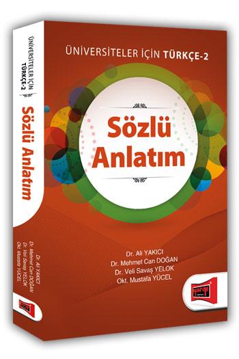 Yargi Yayinlari Sözlü Anlatim Üniversiteler Için Türkçe - 2