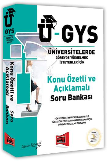 Yargi Yayinlari Ü-GYS Konu Özetli Açiklamali Soru Bankasi