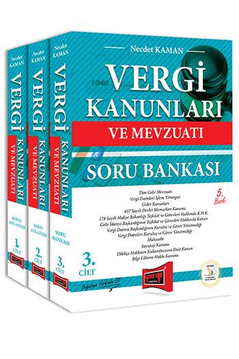 Yargi Yayinlari Vergi Kanunlari ve Mevzuati Konu Anlatimi ve Soru Bankasi 3 Kitap 5. Baski