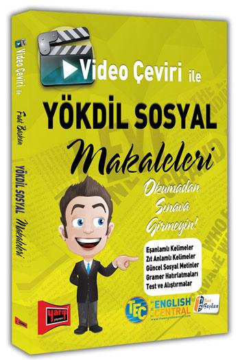 Yargi Yayinlari Video Çeviri Ile YÖKDIL SOSYAL Makaleleri