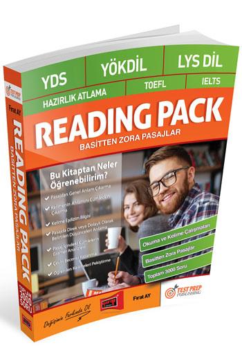 Yargi Yayinlari YDS - YÖKDIL - Ayt DIL - Hazirlik Atlama - TOEFL - IELTS Reading Pack Basitten Zora Pasajlar